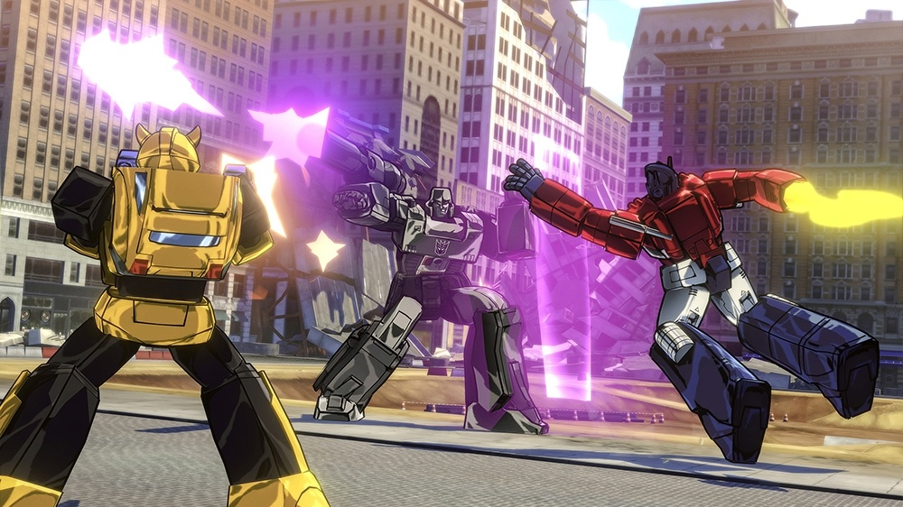 New Cel Shaded Transformers Game Leaked Ahead Of E3 2015