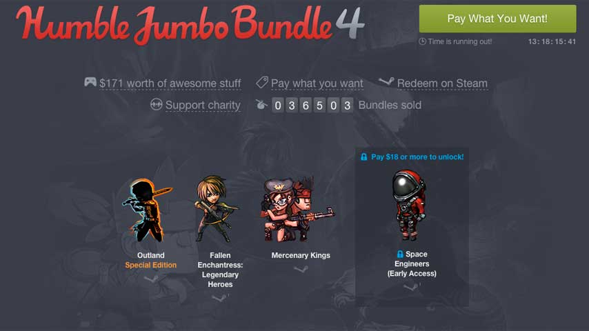 Outland The Stanley Parable And More In Humble Jumbo