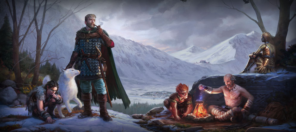 Pillars Of Eternity The White March Continues In January VG247
