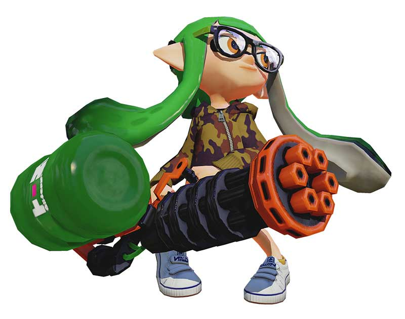 Splatoon August Update Adds New Play Modes And Weapons