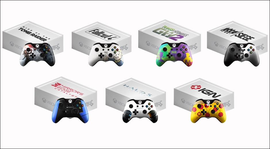 Win A Fallout 4 Mirrors Edge Halo 5 Xbox One Controller From Microsoft VG247