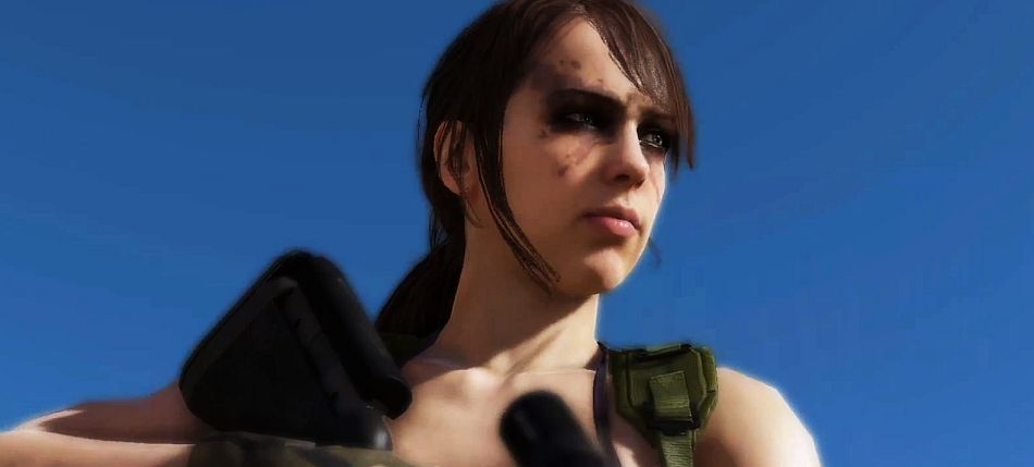 This Is What Happens When You Swap Quiets Model With Ocelots In MGS5 The Phantom Pain VG247