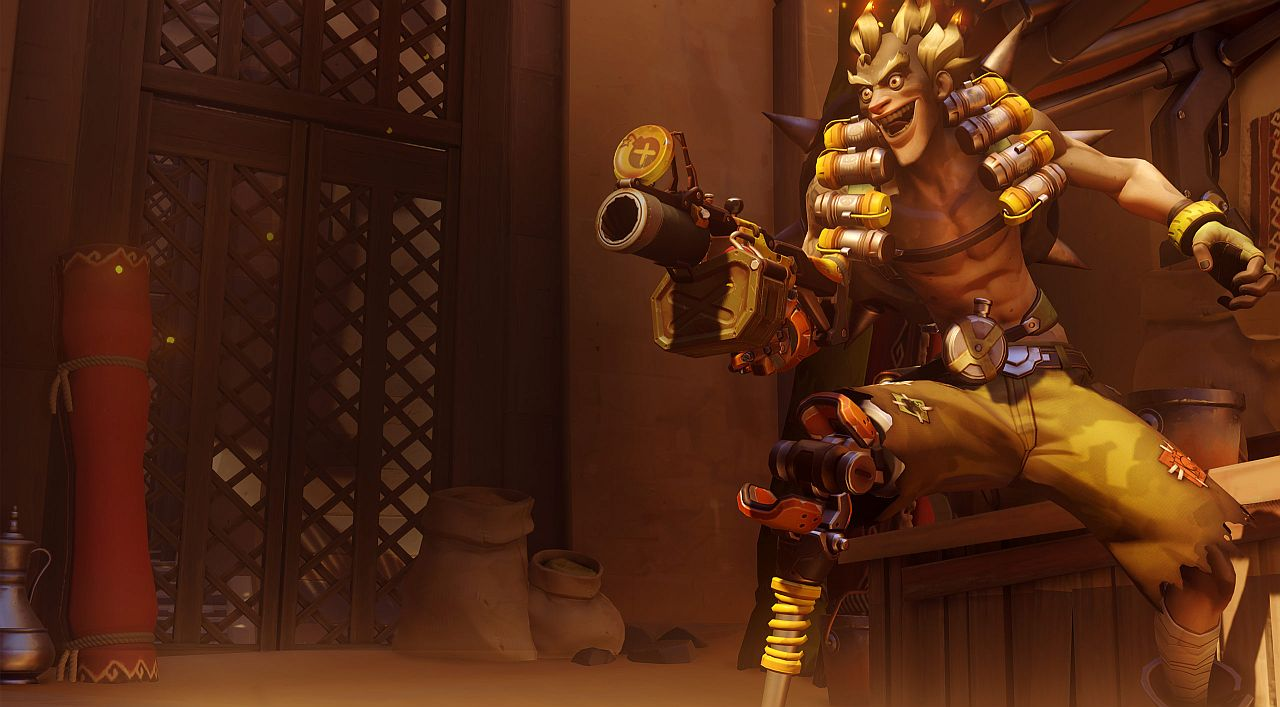 Nintnedo Fall Wallpapers Roadhog And Junkrat Are The Latest Overwatch Characters To