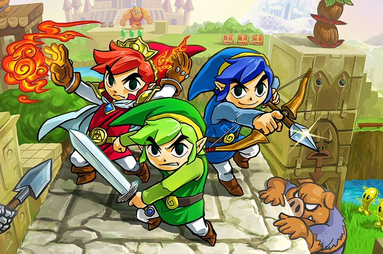 Free Den Of Trials Update Coming To The Legend Of Zelda Tri Force Heroes VG247
