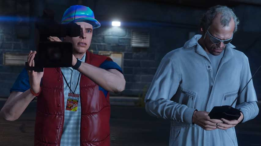 Gta 5 Back To The Future Tribute Shows Off Power Of Mods