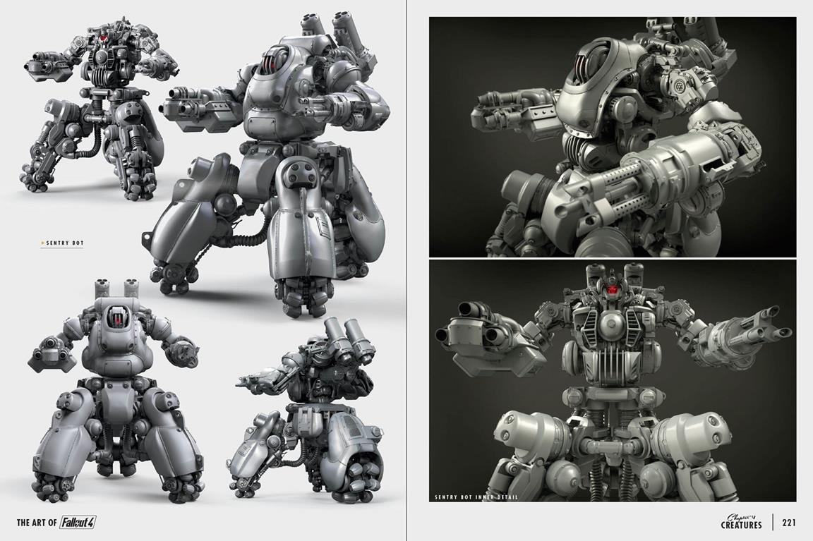 Fallout 4 New Weapons Mutants Bots Star In 30 Pages Of