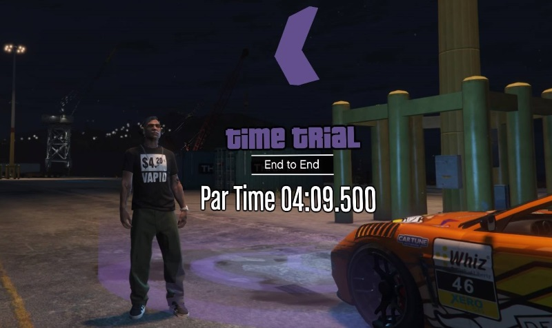 How To Beat This Weeks GTA Online Time Trial End To End VG247