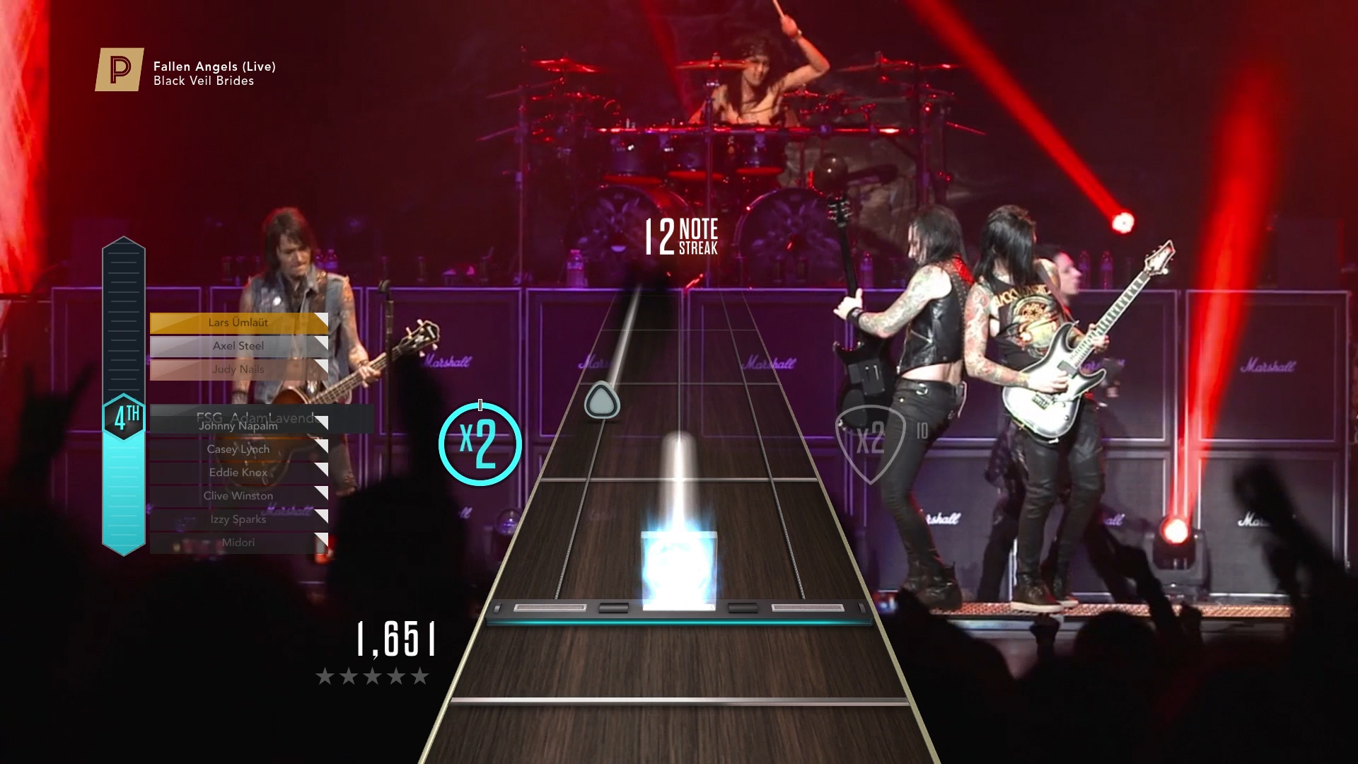 Weekend Wallpaper Hd Guitar Hero Live Players Get Free Access To The Entire
