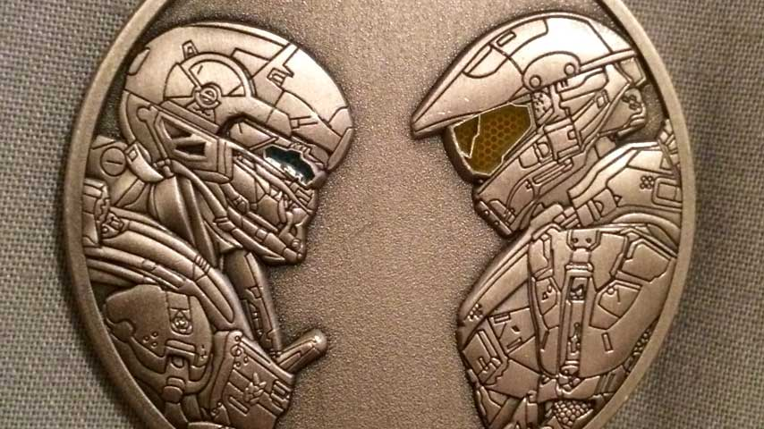 Halo 5 Guardians Challenge Coin Available On Military