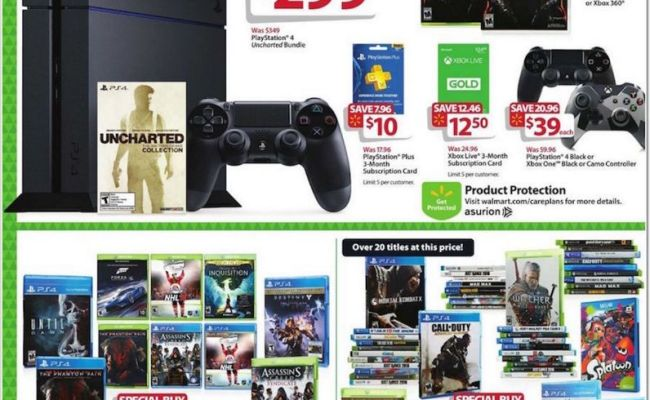 Walmart Black Friday 2015 Deals Are All About The Games