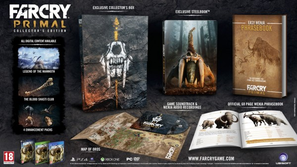 Far Cry Primal Gets Two Collectors Editions PC Release