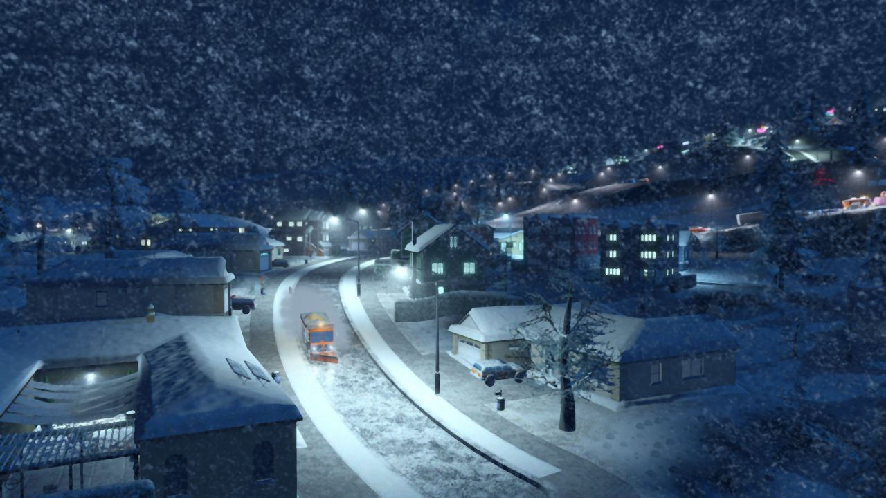 Free Download Of Christmas Wallpaper With Snow Falling Contents Of Free Cities Skylines Update Detailed Vg247