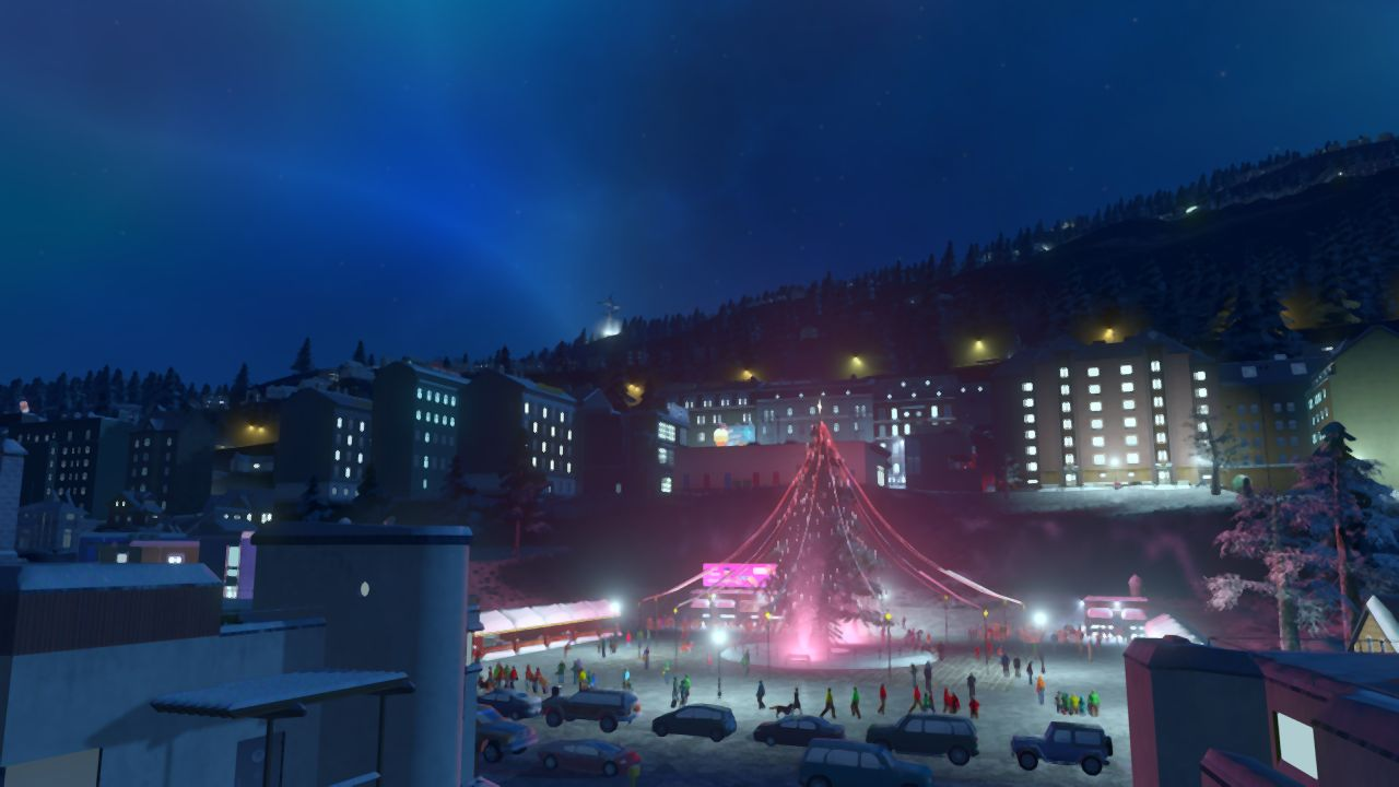 Falling Star Wallpaper Hd The Next Cities Skylines Expansion Will Be Rather Chilly