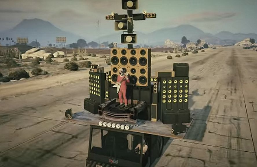Drive The Mad Max Doof Wagon Or A Weed Truck With The Gta