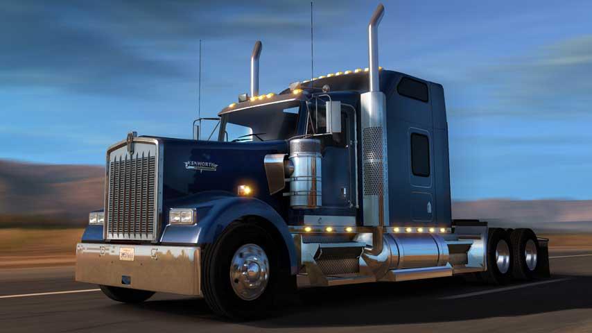 American Truck Simulator Update Adds New Truck Explains