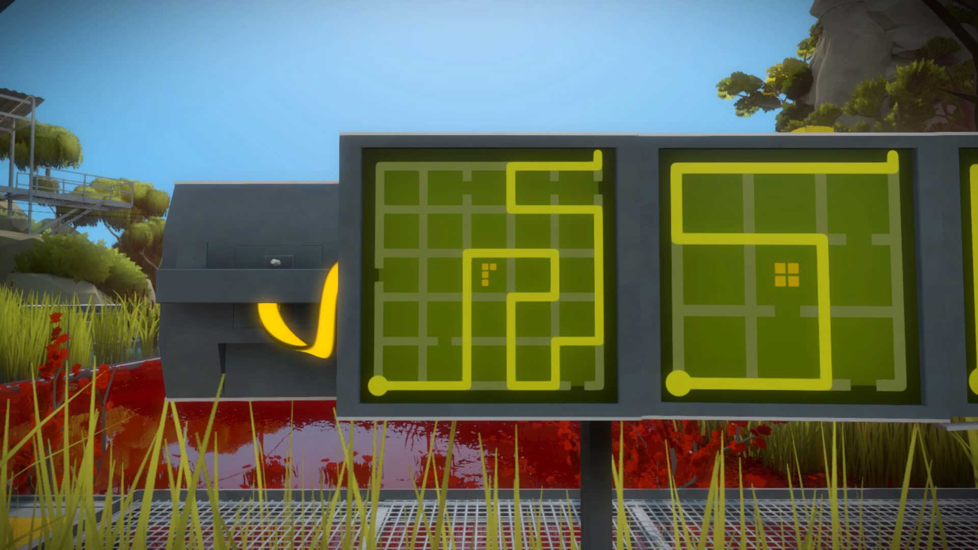 The Witness how to solve the tetromino puzzles in the