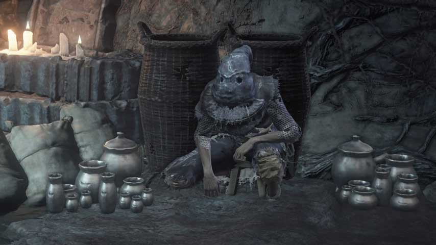 Dark Souls 3 Player Hides From Invaders By Dressing As NPC VG247