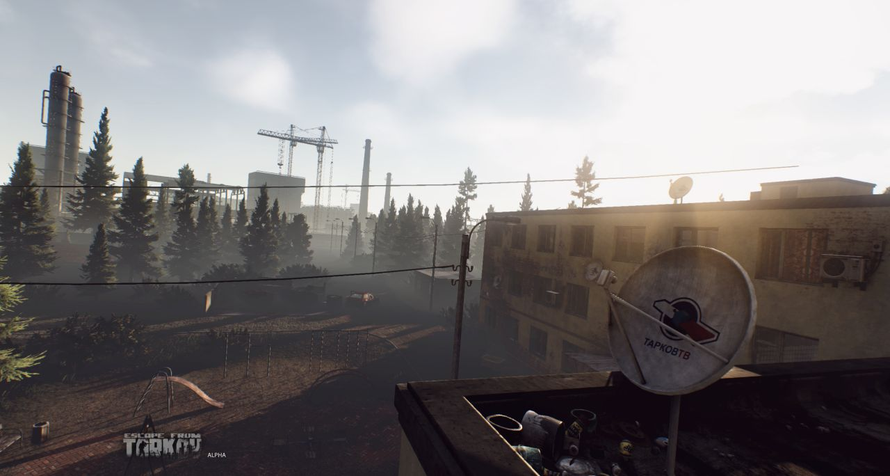 Escape From Tarkov Screens Showcase The Games Dynamic Day And Night Cycle VG247