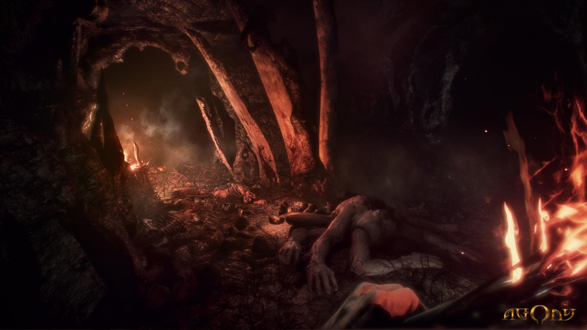 Agony Is A First Person Survival Horror Set In Hell VG247