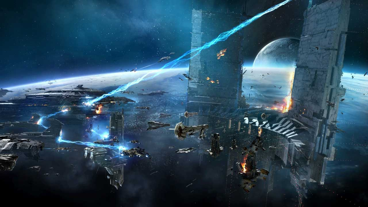 EVE Online Citadel Sure Is Pretty VG247