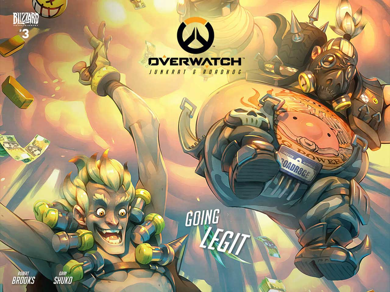 Overwatch Characters Junkrat And Roadhog Star In Latest Comic Issue VG247