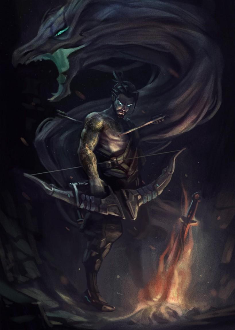 Fan Reimagines Overwatch Heroes As Dark Souls Characters VG247