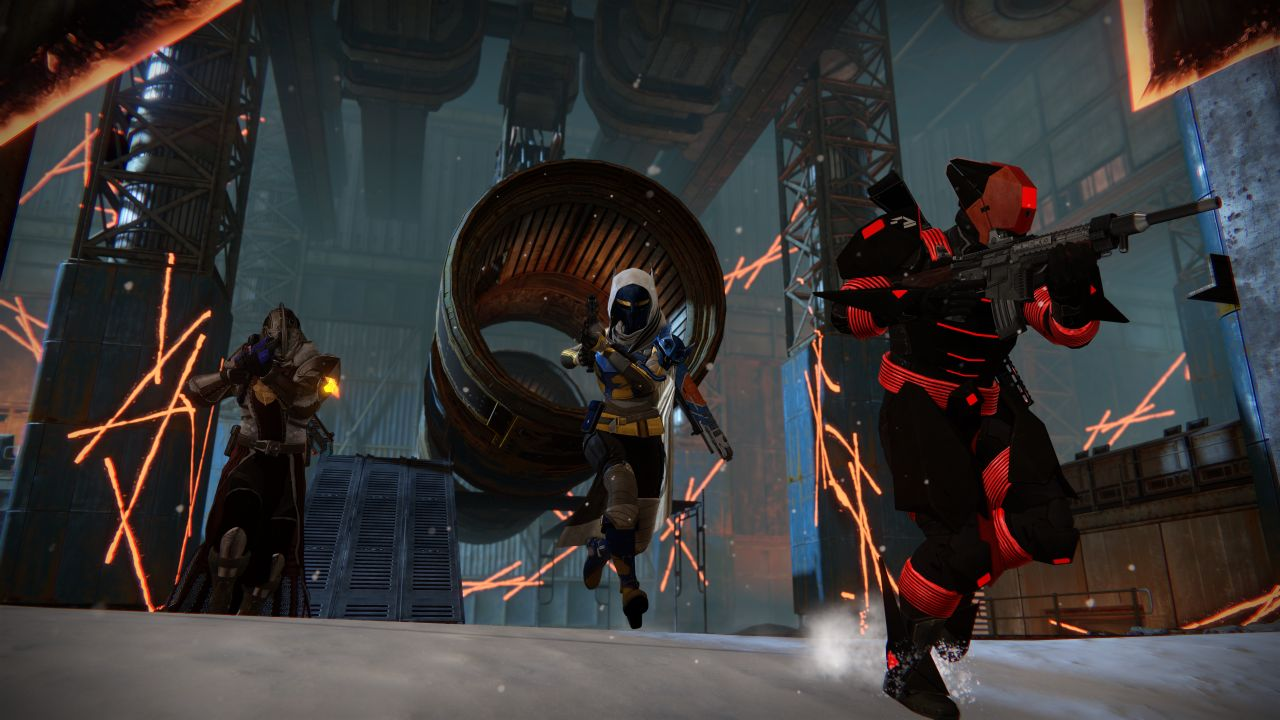 Destiny Kings Fall Wallpaper Destiny Rise Of Iron E3 2016 Screens Show Weapons In