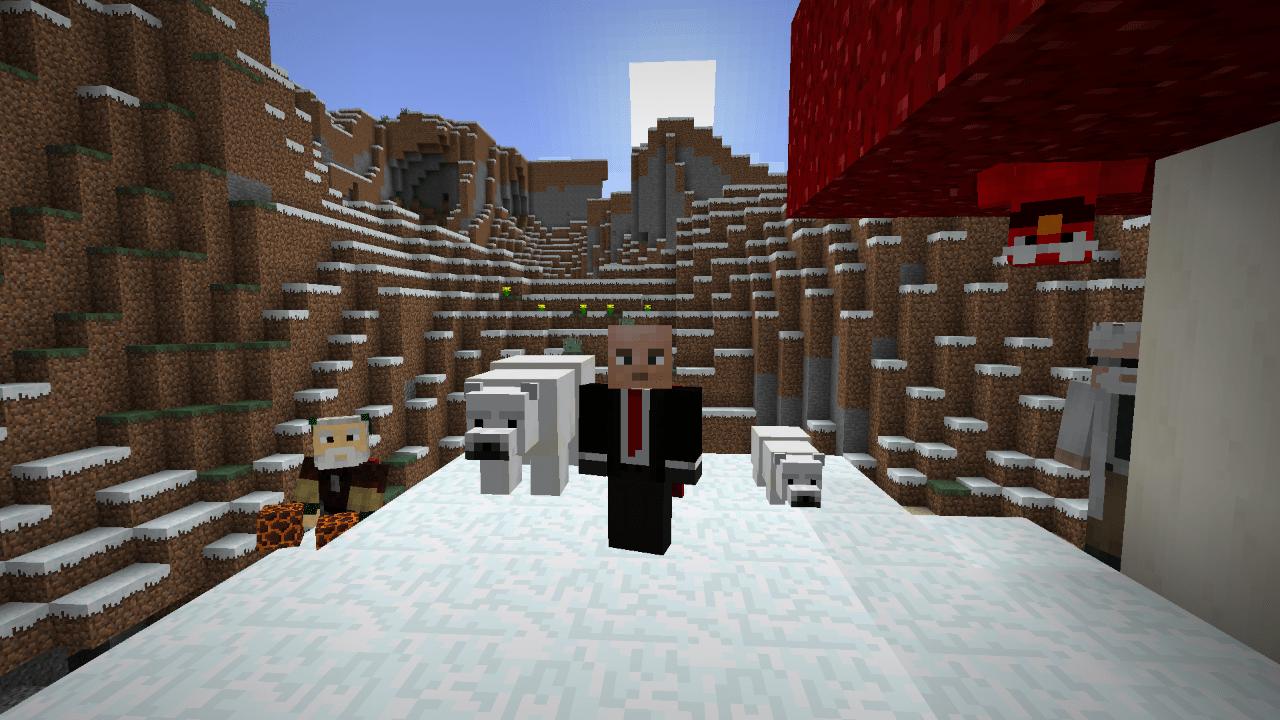 Minecraft 110 Update Adds New Polar And Desert Content