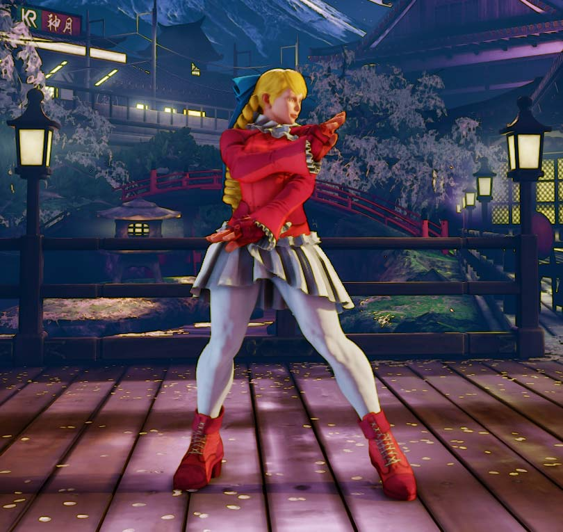 Street Fighter 5 June Update Stage Variations And New