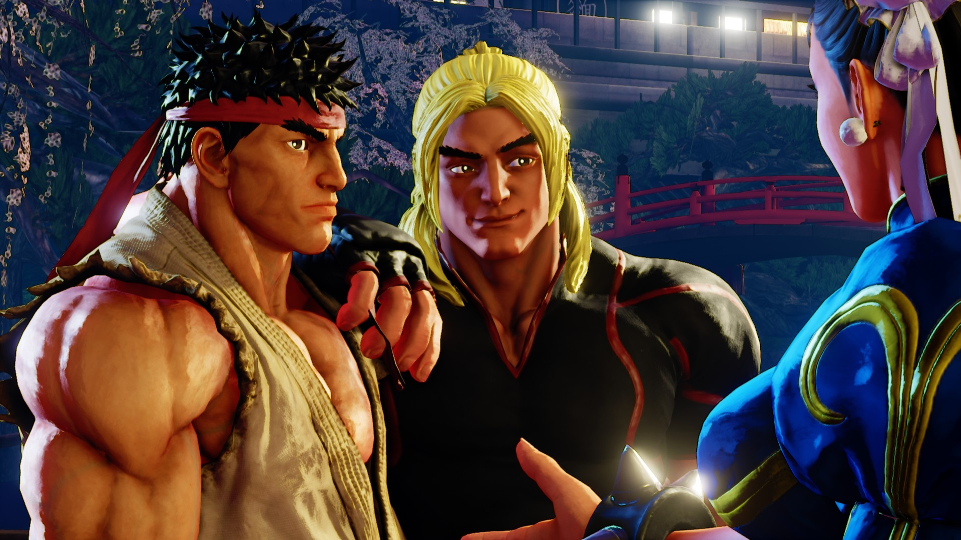 Street Fighter 5s New Story Mode Nails The Series Cheesy