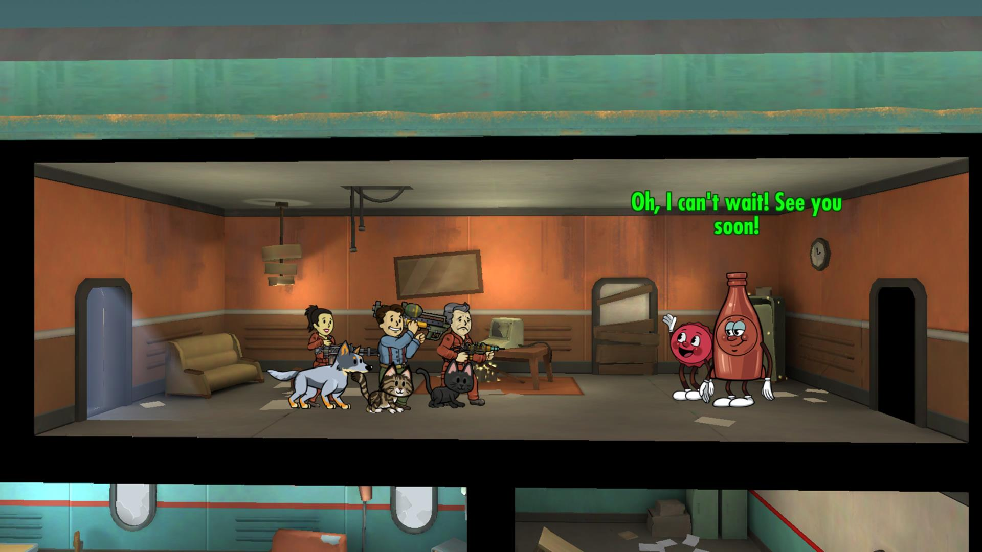 Fallout Shelter Update 17 Brings Nuka Worlds Bottle And