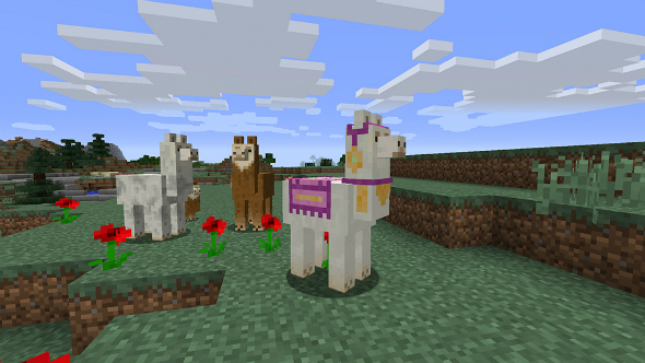 Minecraft Exploration Update Brings Llamas And Serious Treasure Hunting With It VG247