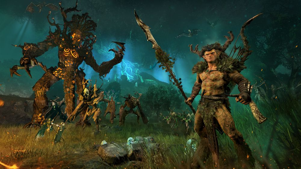 Total War: Warhammer players will soon enter the Realm of the Wood Elves - VG247