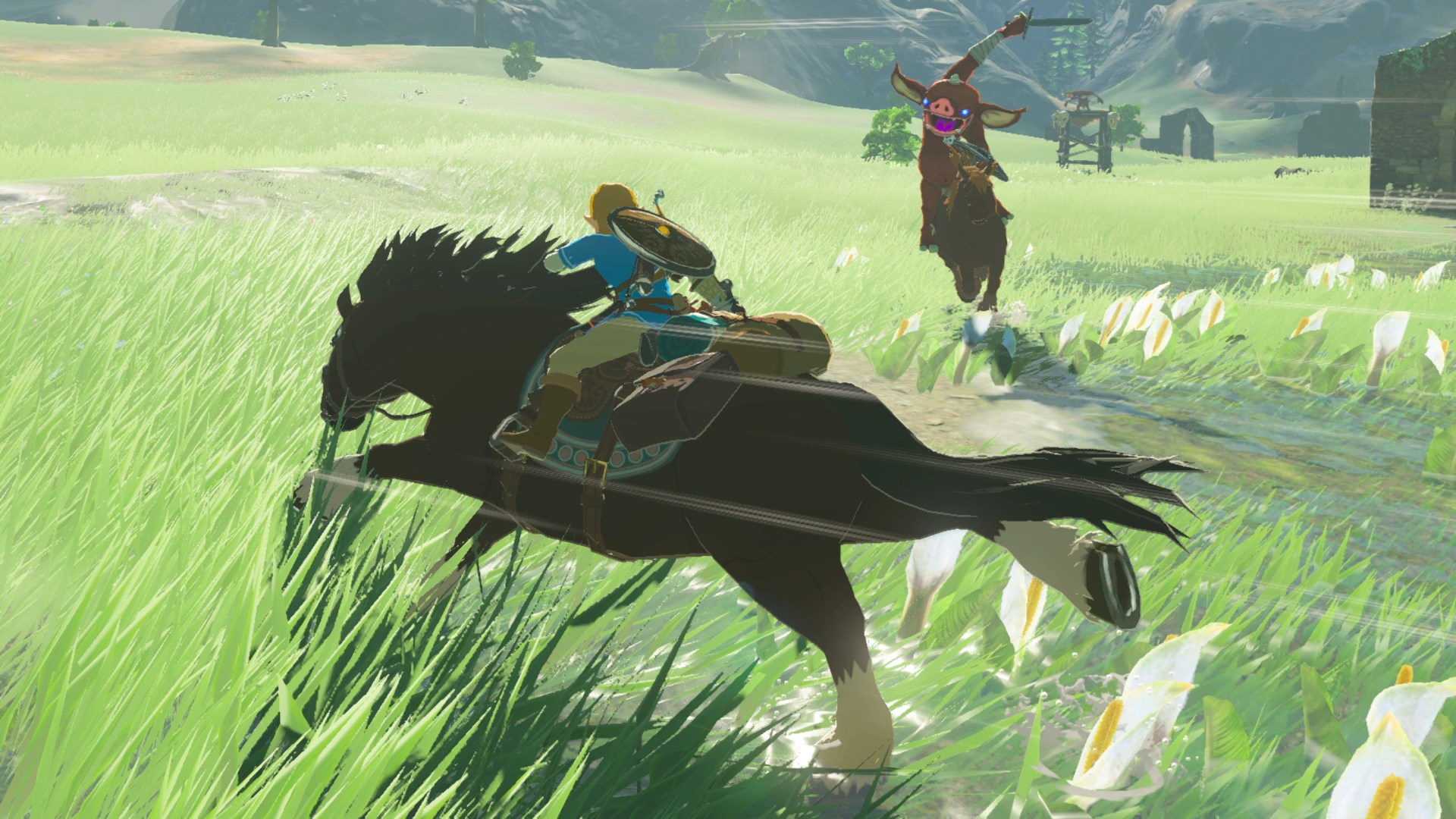 Zelda Breath Of The Wild Guide How To Tame Horses And