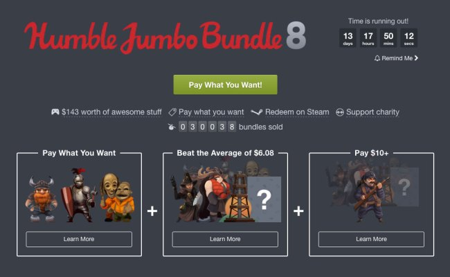 Tasty New Humble Bundle Gives You A Chance To Grab