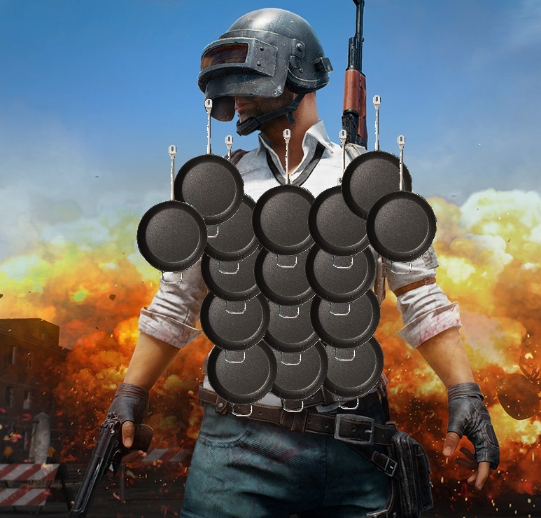 PlayerUnknowns Battlegrounds Latest Patch Turned Frying Pans Into Bullet Shields VG247