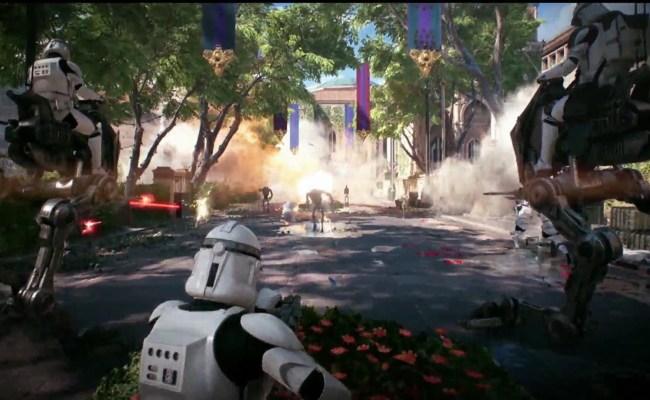 Arrived The Star Wars Battlefront 2 Multiplayer Trailer