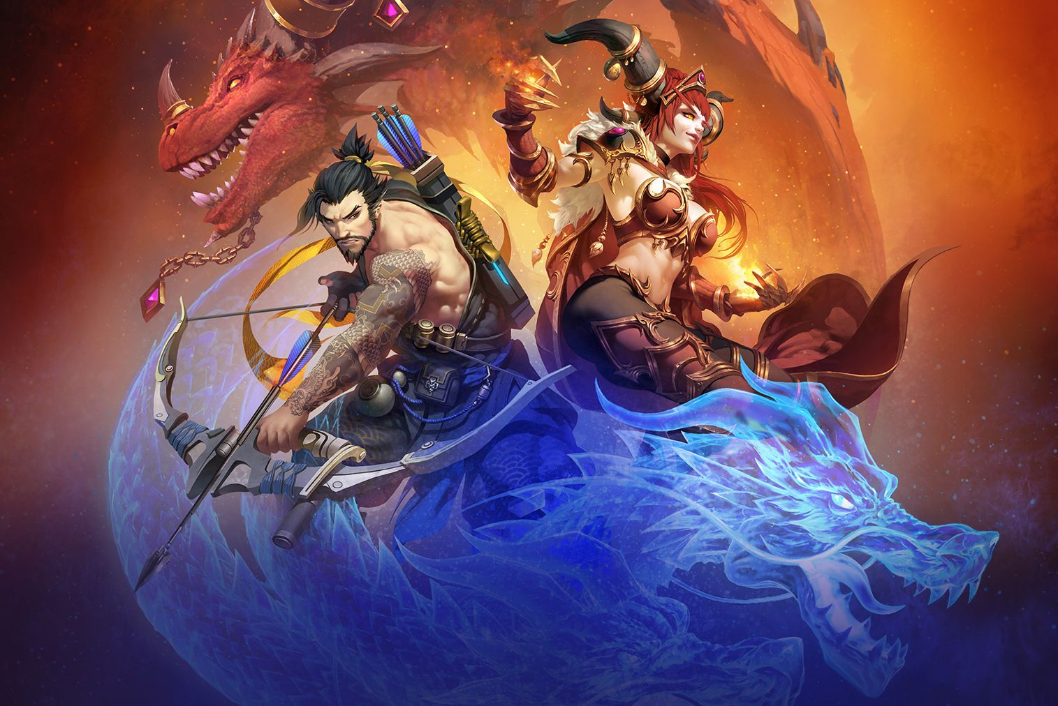 Overwatchs Hanzo And WoWs Alexstrasza Coming To Heroes