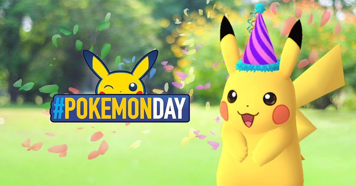 Pokemon GO Celebrates Pokemon Day With Party Hat Pikachu