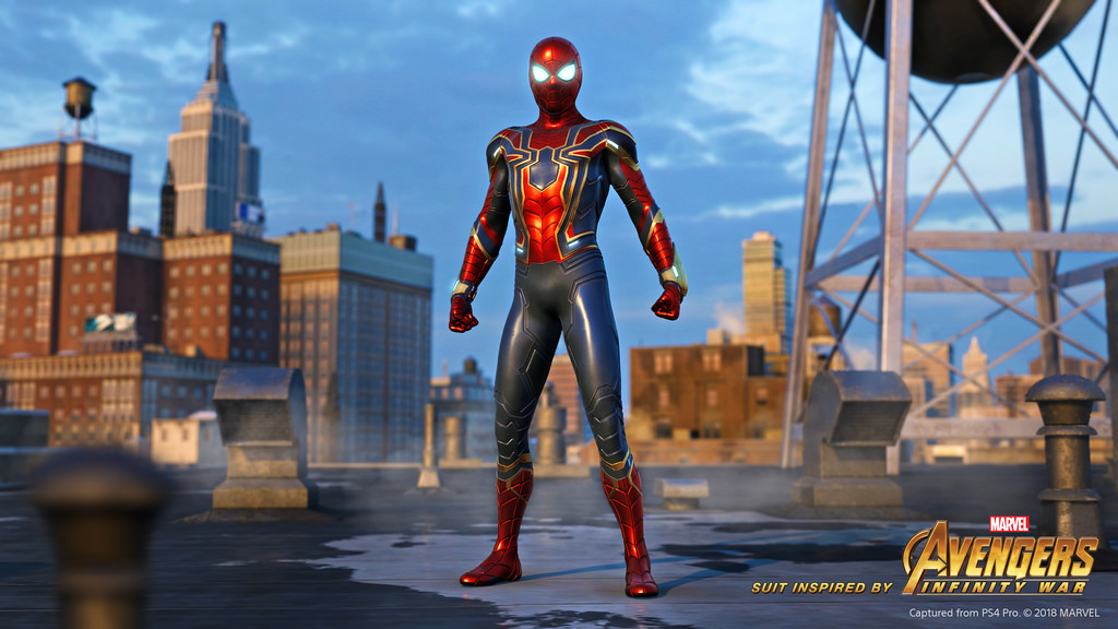 Preorder Spider Man And Gain Early Access To The Iron