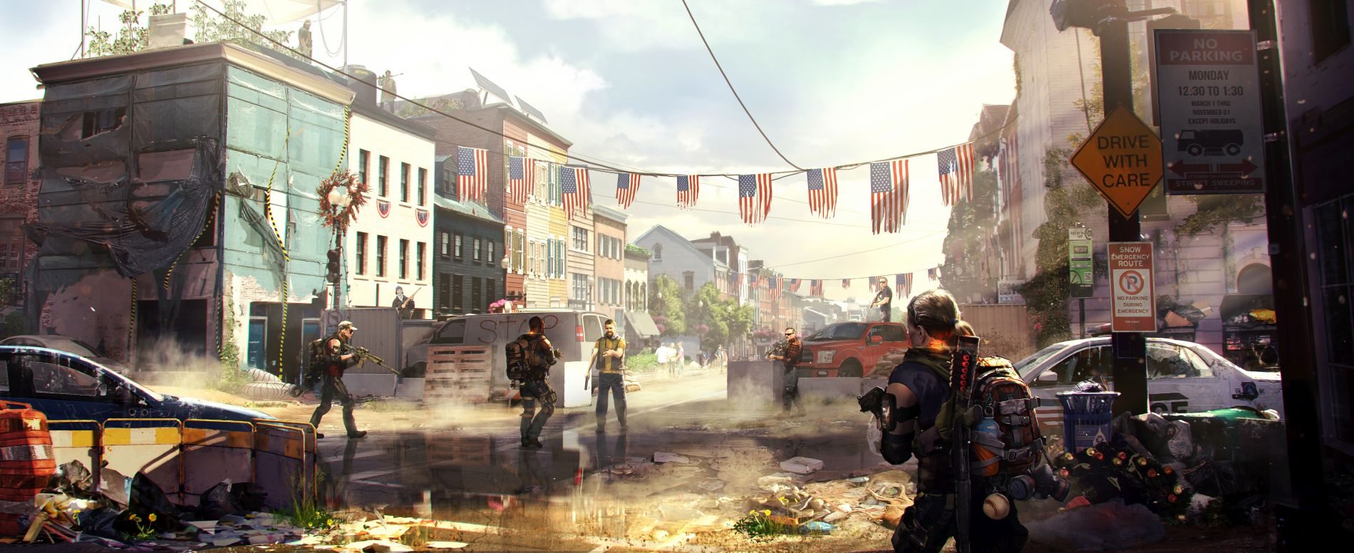 Cute Raccoon Wallpaper The Division 2 Theater Comms Location Guide Vg247