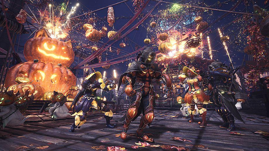 Monster Hunter Worlds Autumn Harvest Fest Kicks Off Later This Month