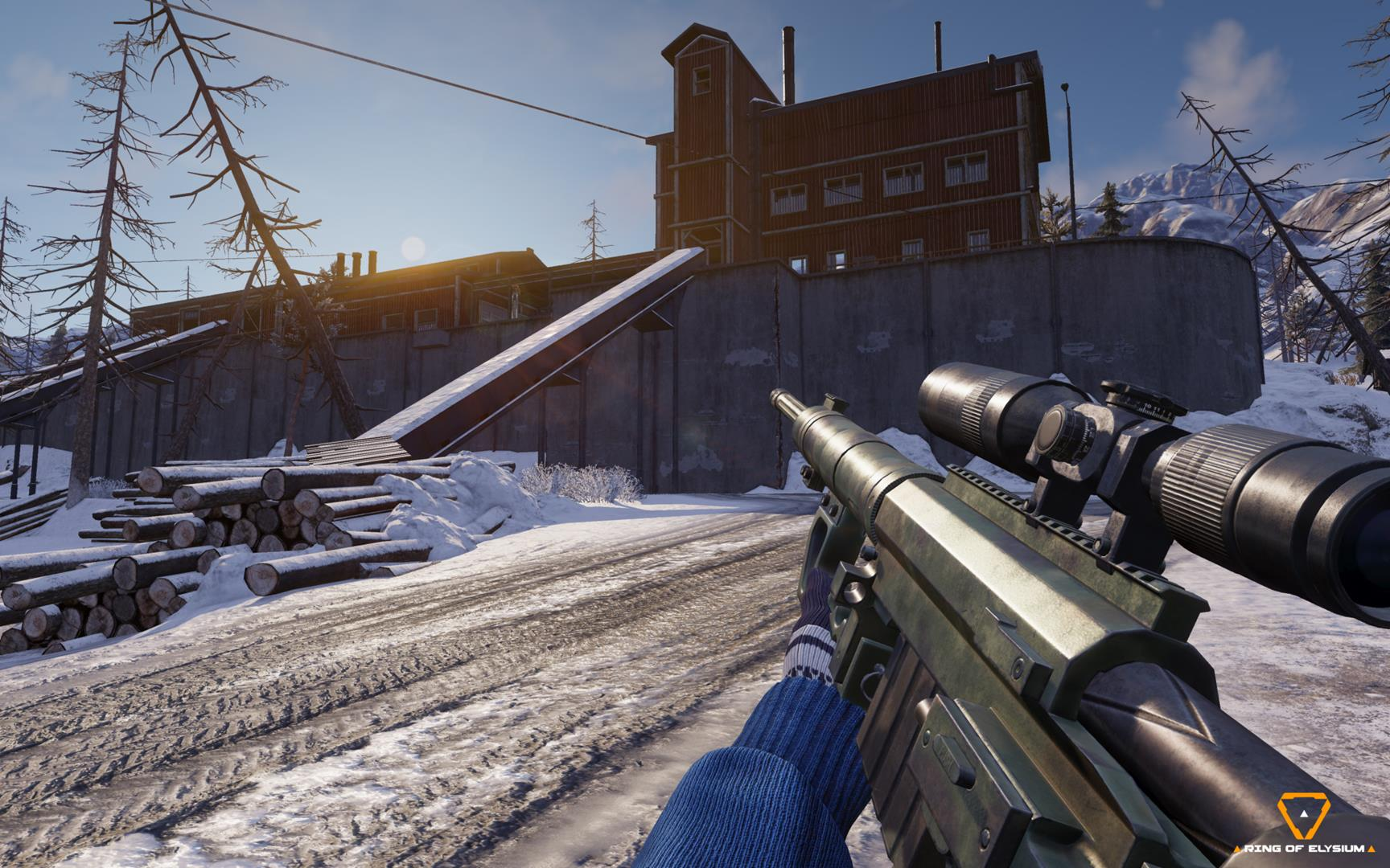 Ring Of Elysium The Battle Royale Shooter Where You Can Snowboard And Paraglide Is Coming To