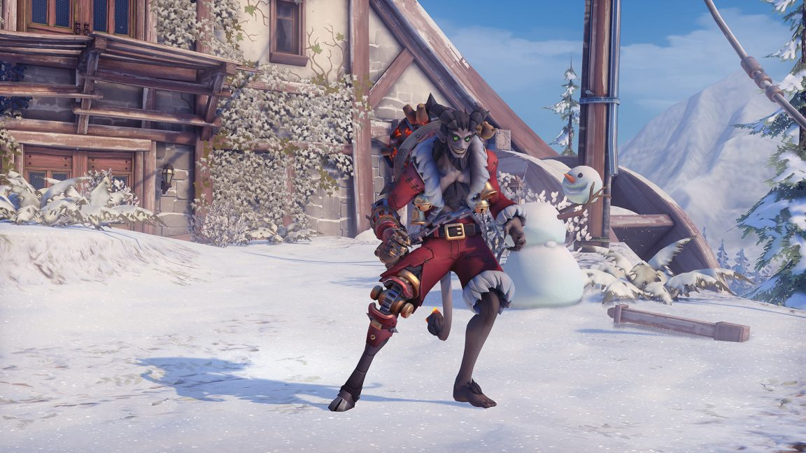 Overwatch Winter Wonderland 2018 Heres All The New Skins
