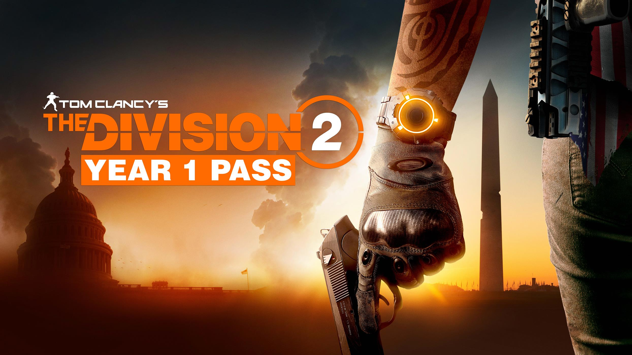 The Division 2 Year 1 Content Season Pass Bonuses