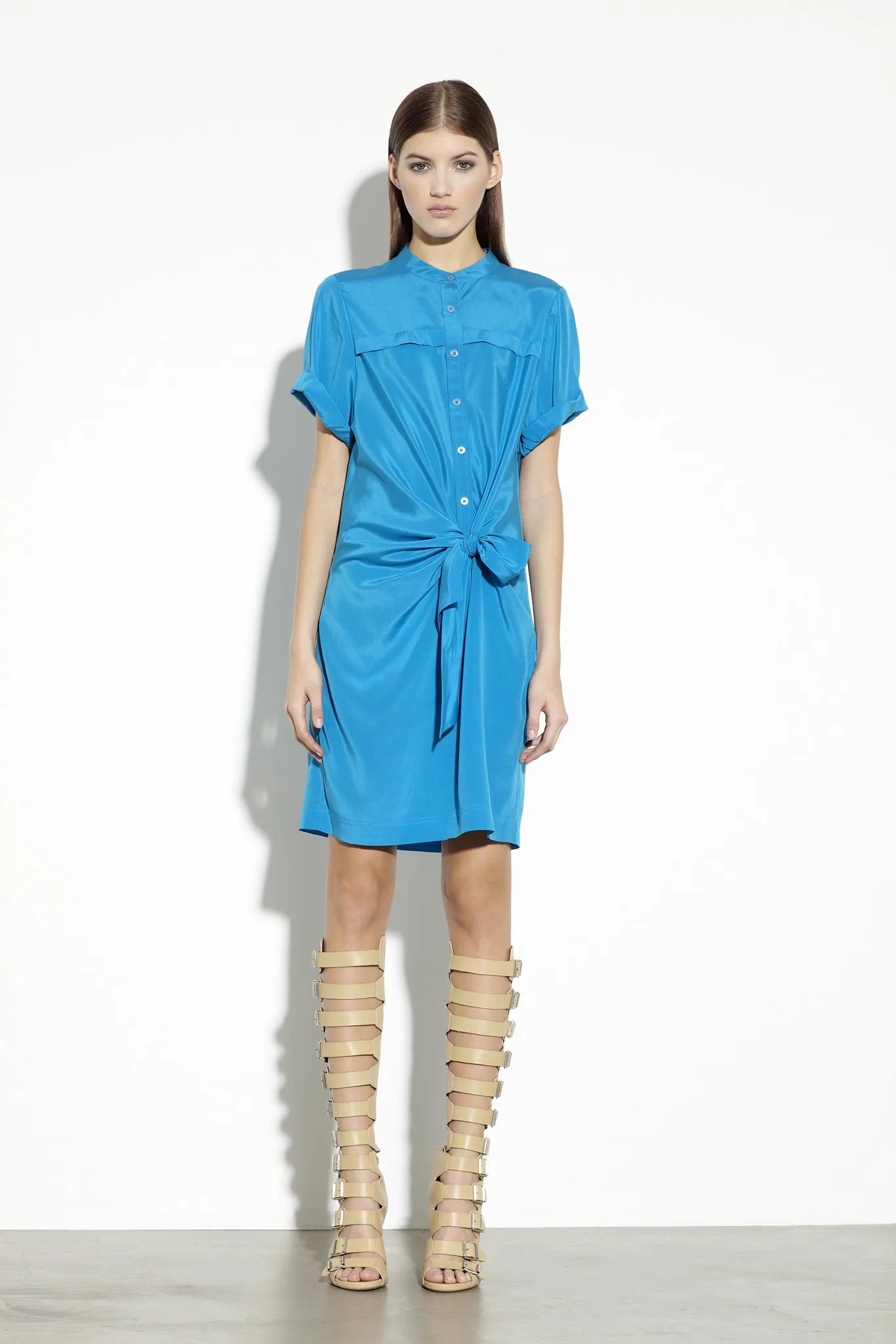 A dress in DKNY Pre-Fall 2013 - Vogue American Designer 1488