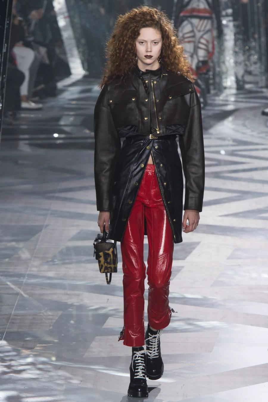 Image result for 80's jackets runway