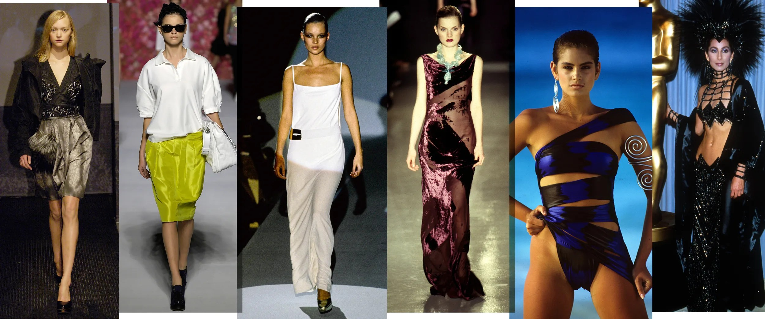 Fashion In 2006, 1996, And 1986—a New Year's Eve Throwback