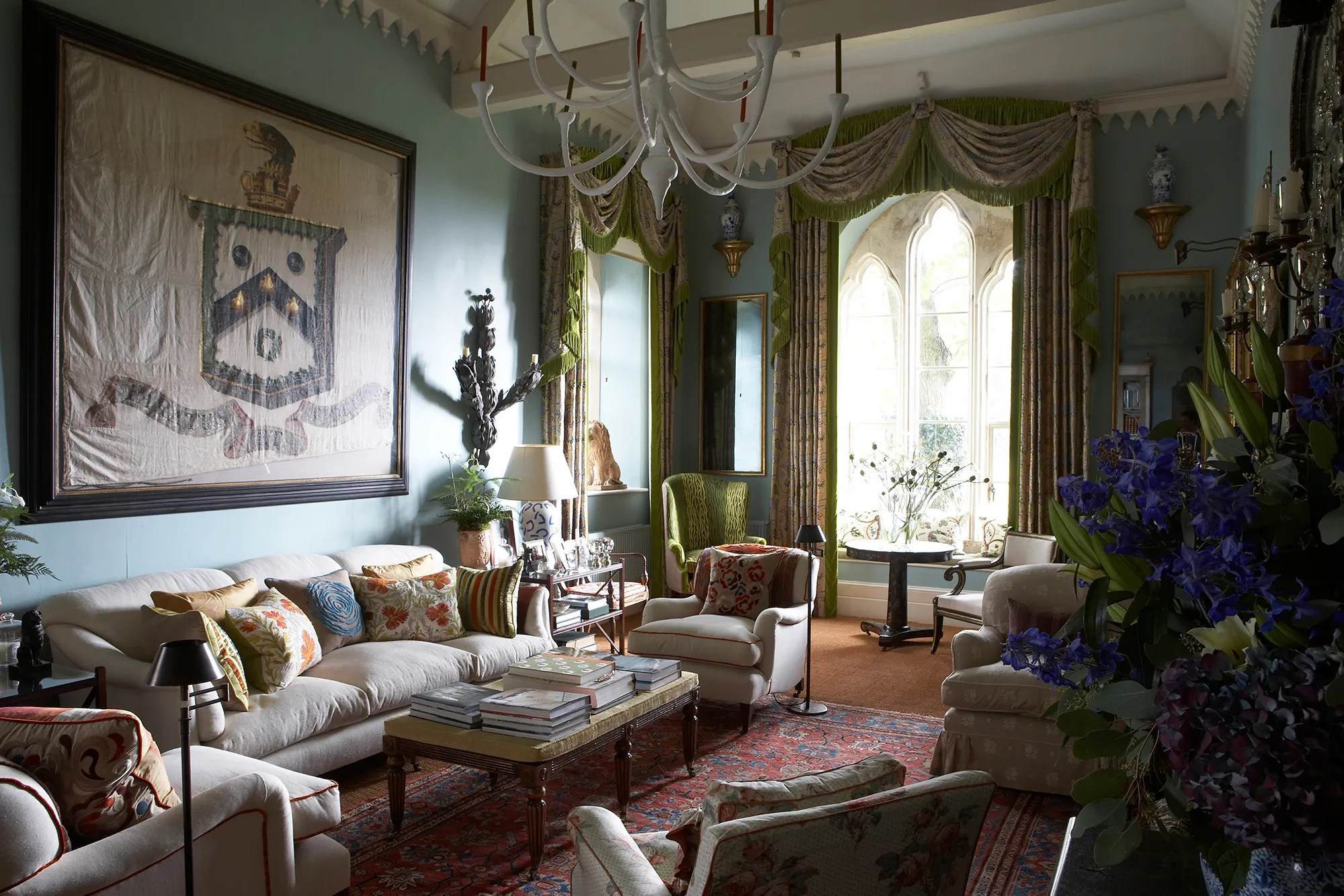 Tour the Dreamy English Country Cottage of Designer