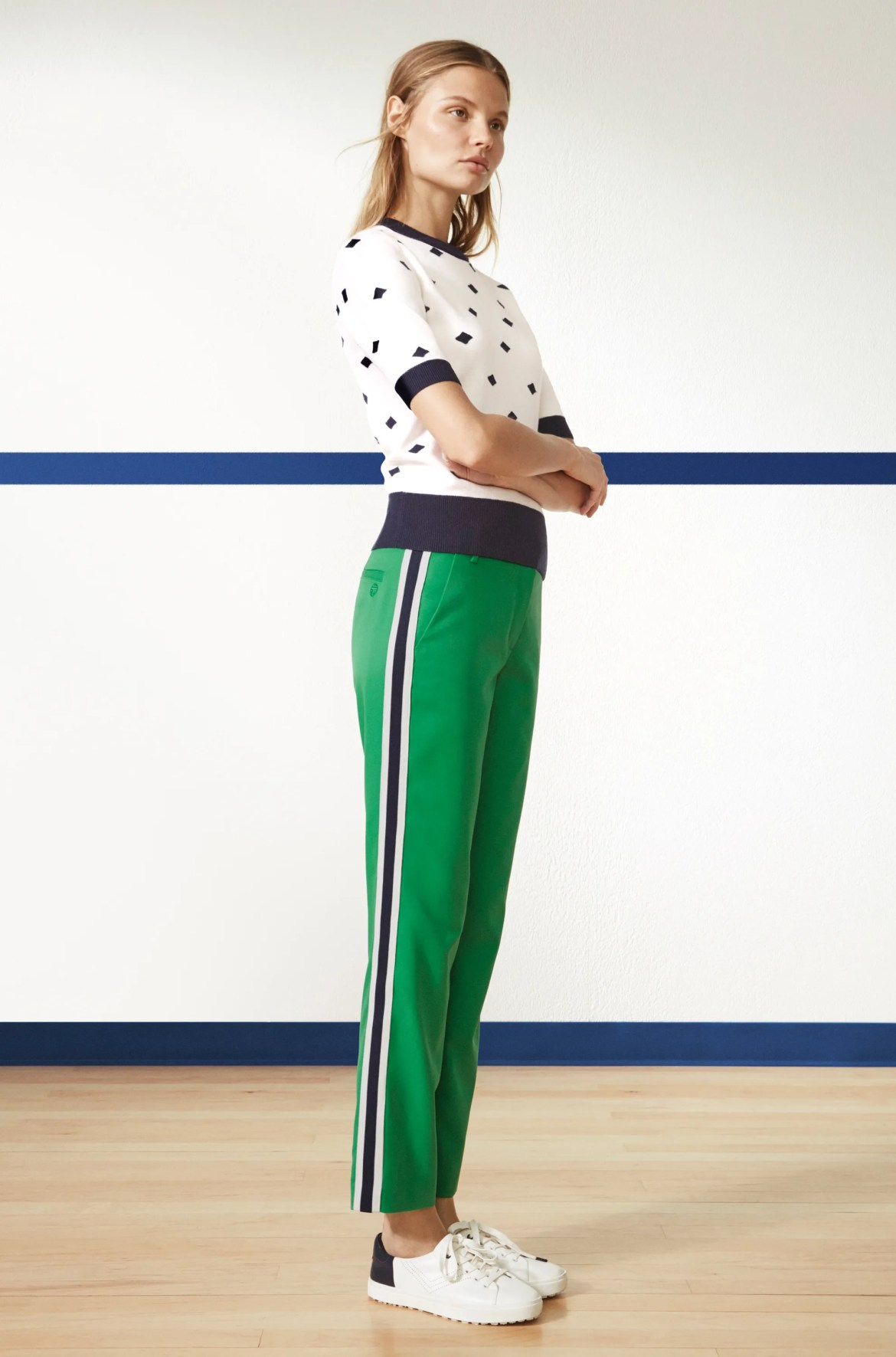 A look from the new Tory Sport collection (Vogue).